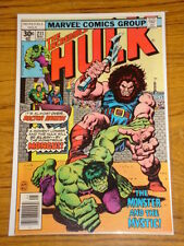 INCREDIBLE HULK #211 VOL1 MARVEL COMICS MAY 1977