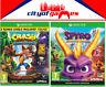 Crash Bandicoot NSane Trilogy & Spyro Reignited Trilogy Bundle Xbox One New