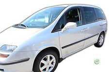 FIAT ULYSSE 2003-2007 SET OF FRONT WIND DEFLECTORS HEKO TINTED 2pc