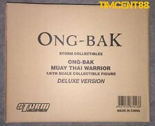 Ready! Storm Toys Collectibles Ong-Bak Tony Jaa The Thai Warrior Ting Deluxe Set