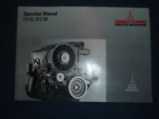 KHD DEUTZ F3-6L 912/W ENGINE OPERATOR OPERATION & MAINTENANCE MANUAL BOOK