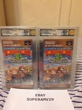 Donkey Kong 3 SFC JAPAN RELEASE VGA 85+ QUALIFIED ARCHIVAL CASE