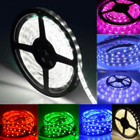 16FT 5050 RGB RGBW White IP65 IP68 Waterproof LED Flexible Tape Strip Light 12V