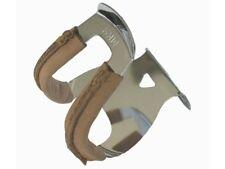 Mks Demi-pince Pince-doigts en Acier Profond avec du Cuir - Half Steel Leather