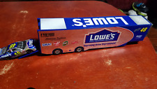 Jimmie Johnson #48 Lowes 1/64 Rookie Stock Car and Transport Trailer