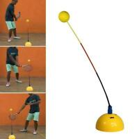 Portable Tennis Training Practice Trainer Swing Tool Ball Machine J9A0