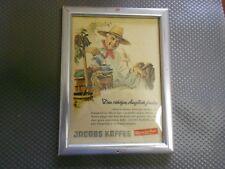 Jacobs Kaffee  alte Reklame im Bilderrahmen (296)