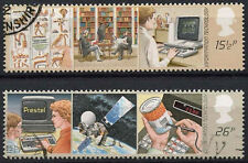 GB QEII 1982 SG#1196-7 Information Technology Used Set #A83060