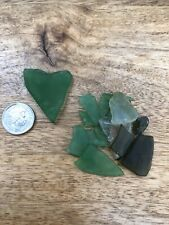 Heart Shaped Piece Genuine North East Coast Seaglass Seaham Plus Small Pieces