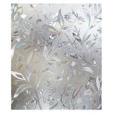 Premium No Glue 3d Static Decorative Frosted Privacy Window Films for Glass C5A0