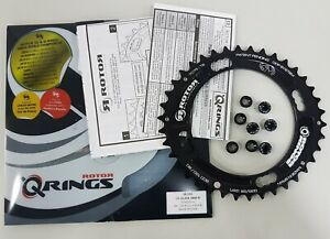 Rotor QX2 Ring MTB XC2 BCD120x4 Outer Chainring (38T,40T) Black