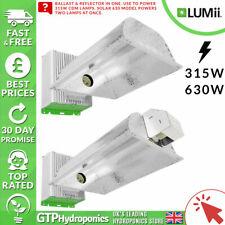 Lumii Solar 315w / 630w - Ballast & Reflector Grow Light in One - Hydroponics