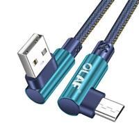 1 / 2m USB Typ C 90 Grad Schnellladung USB C Kabel Ladegerät Datenkabel C T C5C7