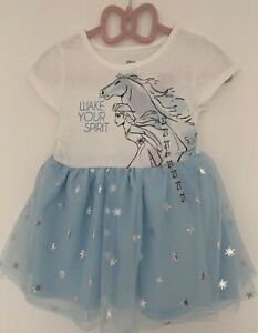 Disney Frozen II girls dress Size 2 years Brand new with Tags