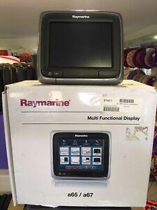 Raymarine Chart Plotter A67 Multi Functional Display E70077