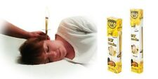 EAR CANDLES HAPPY EARS ORGANIC CANDLE 1X PAIR NATURAL WAX CLEAN HEALTH DETOX BEE