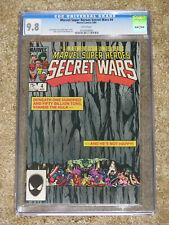 Marvel Super Heroes Secret Wars 4 CGC 9.8. Shooter; Layton. Hulk mad!