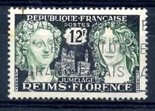 STAMP / TIMBRE FRANCE OBLITERE  N° 1061 JUMELAGE REIMS FLORENCE