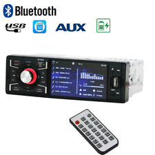 Bluetooth 4.1 inch Stereo Car Radio One Din HD Screen FM Aux MP3 MP4 MP5 Player