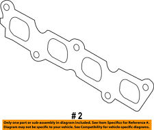 FORD OEM 11-16 Fiesta Exhaust-Manifold Gasket BE8Z9448D SOLD INDIVIDUALLY