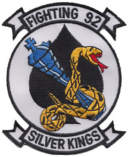 Fighter Squadron 92 VF-92 United States Navy USN Shaped Embroidered Patch