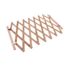 Dog Gate for Doorway, Stairs, Foldable Wooden Pet Gate, Pet Puppy Safety Fence