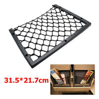 Interior Car Boot Tidy Black Large Elastic Storage Cargo Net (31.5 x 17.5cm)