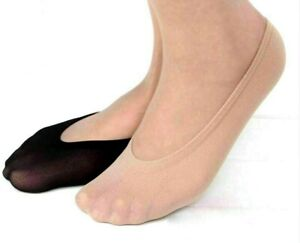 6 Pairs POP SOCKS Sexy Simple Ultra-Thin Footsies Short Nylon Stockings Anklet