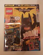 Lego 'The Batman Movie' Magazine - Issue 1 with Batman Minifigure - New/Sealed