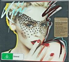 """KYLIE MINOGUE """" X """" 2007 SPECIAL EDITION OZ CD & DVD LIKE NEW"""