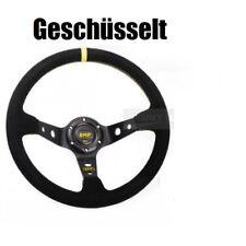 OMP 14 Inch 350mm volante serraje volantes Motorsport volante deportivo amarillo geschü