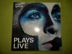 Peter Gabriel/Genesis - Plays Live *GUT* TOP RAREST PROG*ROCK 2 x LP