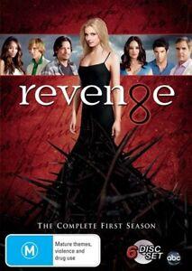 Revenge : Complete First 1st Season 1 DVD 6 Disc Region 4