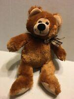 "MS Teddy Bear Inc Brown Bear 13"" Plush Stuffed Animal"