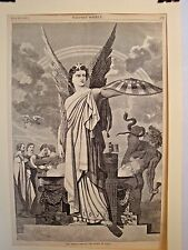 SPIRITS ABROAD - THE SPIRIT OF UNION HARPER PRINT SERPANT SNAKE 1860
