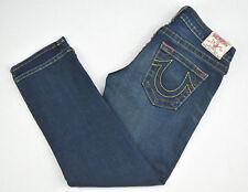 TRUE RELIGION Kate Jeans Womens Long Blue Jean Size 28