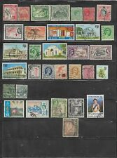 32 Different Used British Colonies & Territories Stamps
