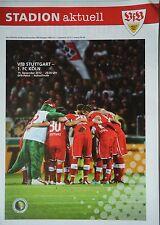 Programm Pokal 2012/13 VfB Stuttgart - FC Köln