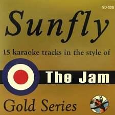 Sunfly Karaoke Gold CDG CD - The Jam Paul Weller CD+G Disc GD-008