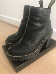 dr martens boots ladies Magdalena Leather Boot