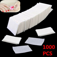 New Acrylic UV Gel Tip Women Nail Polish Remover Cleaner Wipe Lint Free 1000pcs
