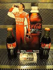 TONY STEWART COCA COLA NASCAR Collection ~ Coke Bottles 1:64 Car Mini Standup