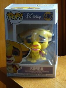Funko Pop! 496 SIMBA - THE LION KING - EL REY LEÓN - WALT DISNEY - VINYL FIGURE