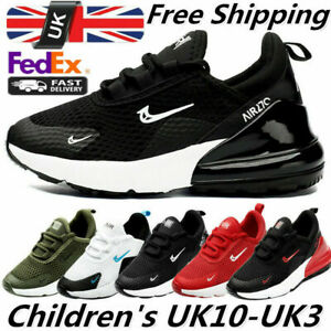 Mens Kids Trainers Boys Girls Running Children Sports Shoes Gym School Sneakers
