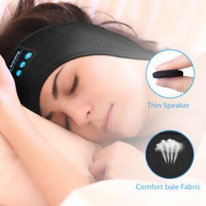 Wireless Bluetooth Headband Sleep Stereo Headset Gym Earphones Sport Headphones