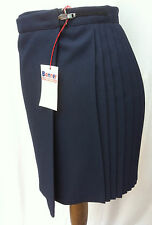 "BNWT Girls Banner Pleated PE /Gym / Games Skirt Navy Blue 26""  *** FREE POST ***"