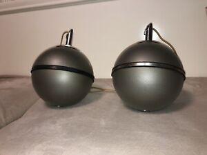 2x Grundig Lautsprecher Audiorama 5000 (4000) Kugellautsprecher Kugelboxen Boxen