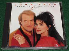 John Tesh MUSIC IN THE KEY OF LOVE Music CD