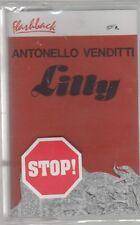 ANTONELLO VENDITTI LILLY FLASHBACK MC K7 MUSICASSETTA SIGILLATA!!!