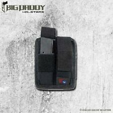 DOUBLE MAGAZINE POUCH FOR GLOCK 17 19 22 23 24 26 27 28 34 35 42 43 (USA MADE)